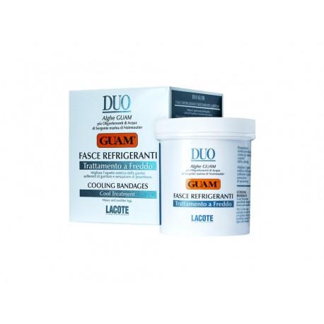 DUO GUAM FASCE REFRIGERANTE - Chłodzący koncentrat antycellulitowy w bandażach 2 x 4,5m/10cm