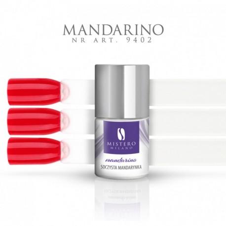 Lakier hybrydowy PERMANENTE UV MANDARINO soczysta mandarynka Pojemność 11 ml