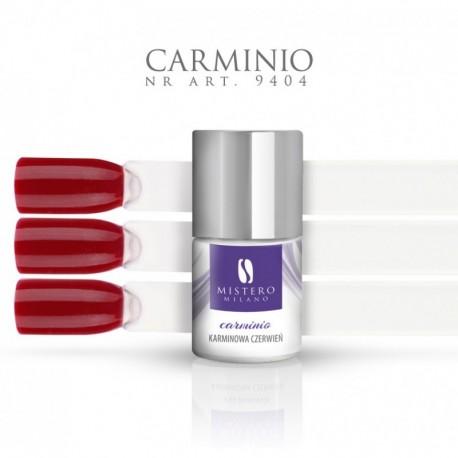 Lakier hybrydowy CARMINIO karminowa czerwień Pojemność 11 ml