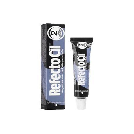Czarno niebieska - RefectoCil Henna do brwi i rzęs