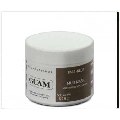 Odżywczo-nawilżająca maska błotna do twarzy i szyi - GUAM face-neck moisturizing replenishing mud mask