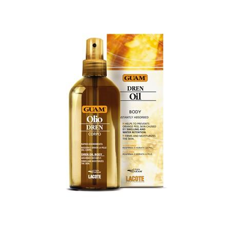 Drenujący olejek do ciała - GUAM olio dren