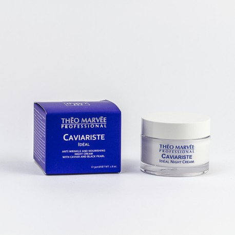 Caviariste Ideal – Night Cream 50 Ml – Theo Marvee