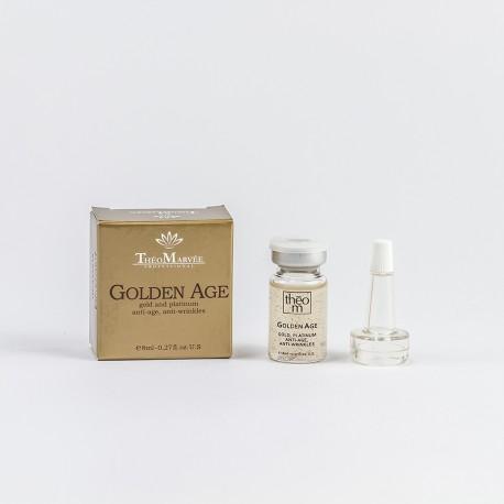 Ampułka przeciwzmarszczkowa z aktywnym złotem i platyną - Golden Age Theo Marvee